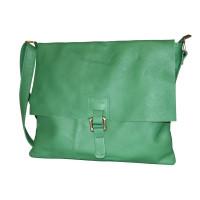 Планшет P0004.7 светло-зеленый 34х29 (Натуральная кожа)