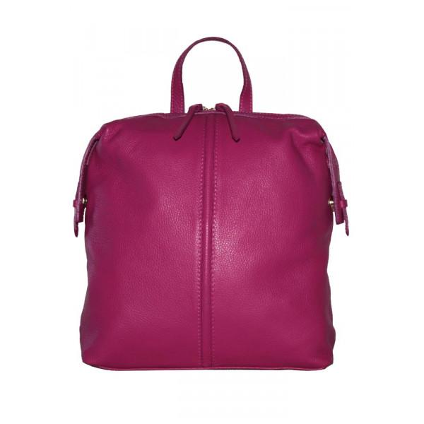 Рюкзак R0004.1 фуксия 32х30х11 (Натуральная кожа)