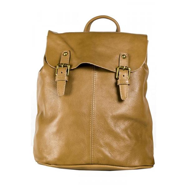 Рюкзак R0005.1 бежевый 33х35х12 (Натуральная кожа)
