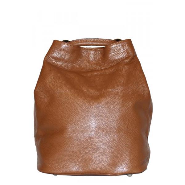 Рюкзак R0012.2 коричневый 24х30х18 (Натуральная кожа)
