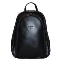 Рюкзак R0018.2 черный 22x30x8 (Натуральная кожа)