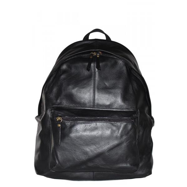 Рюкзак R0027.1 черный 32х40х14 (Натуральная кожа)