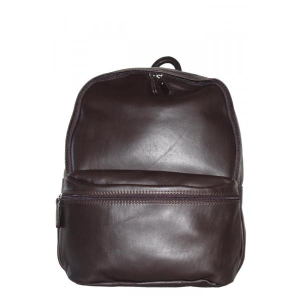 Рюкзак R0028.1 темно-коричневый 30х36х16 (Натуральная кожа)