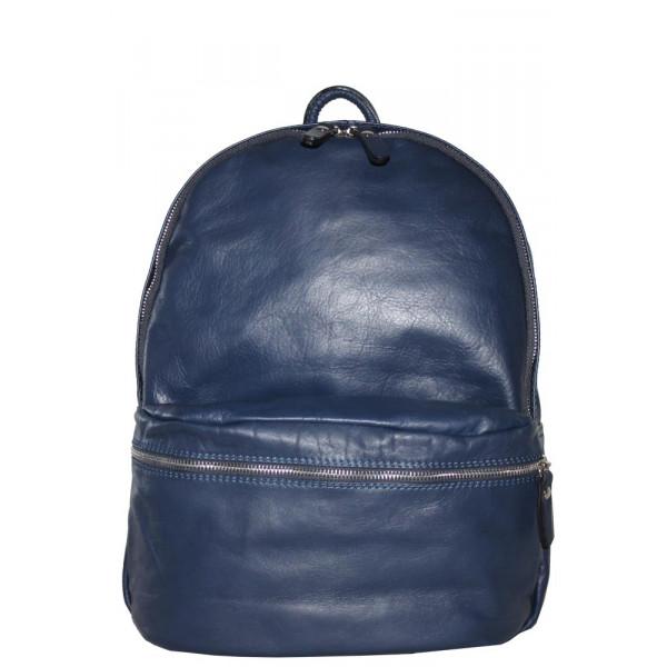 Рюкзак R0028.3 темно-синий 30х36х16 (Натуральная кожа)
