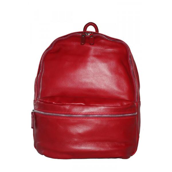 Рюкзак R0028.4 красный 30х36х16 (Натуральная кожа)