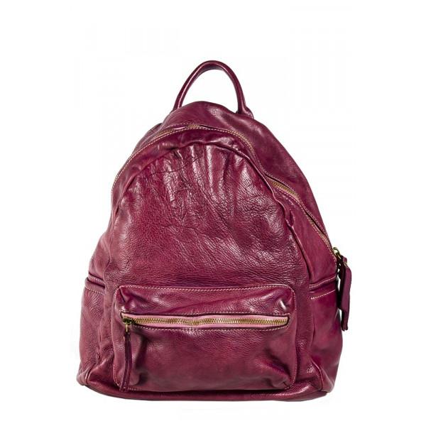 Рюкзак R0035.1 сиреневый 30х29х15 (Натуральная кожа)