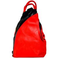 Рюкзак R0036.2 красный 23х33х13 (Натуральная кожа)
