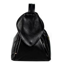 Рюкзак R0037.1 черный 23х33х13 (Натуральная кожа)