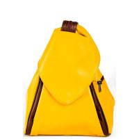 Рюкзак R0037.5 желтый 23х33х13 (Натуральная кожа)