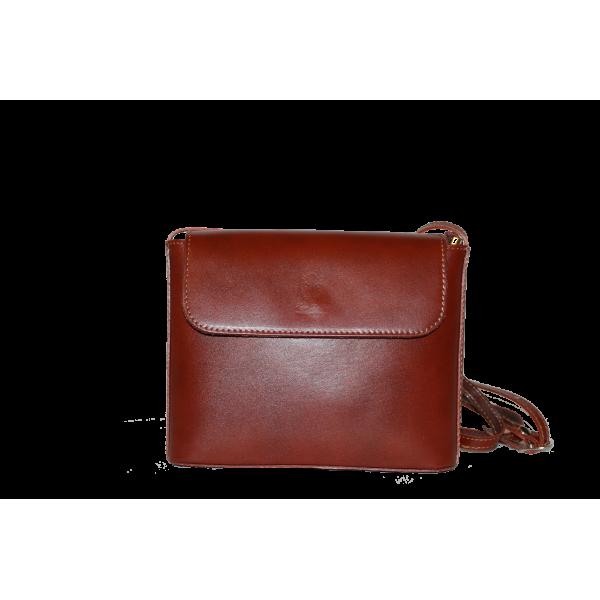 Сумка B0006.6 коричневый 21х17х7 (Натуральная кожа)