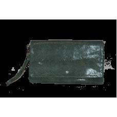Клатч K0001.8 зеленый 29х17