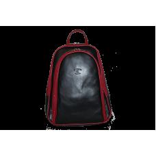 Рюкзак R0018.1 черно-красный 22x30x8