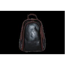 Рюкзак R0018.3 черно-коричневый 22x30x8