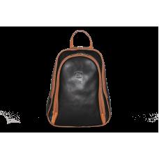 Рюкзак R0018.4 черно-рыжий 22x30x8