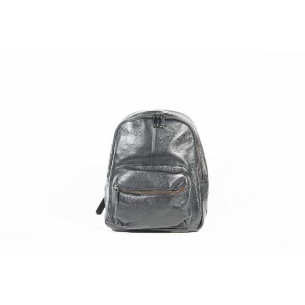 Рюкзак R0040.2 черный 25х28х10 (Натуральная кожа)