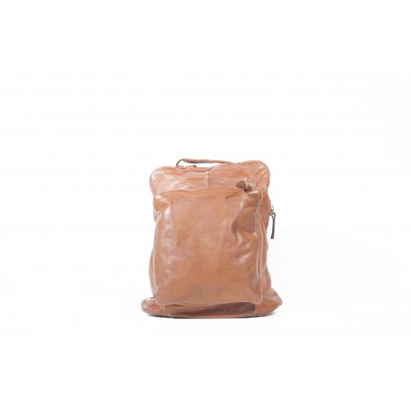 Рюкзак R0041.1 коричневыйv 28х31х12 (Натуральная кожа)