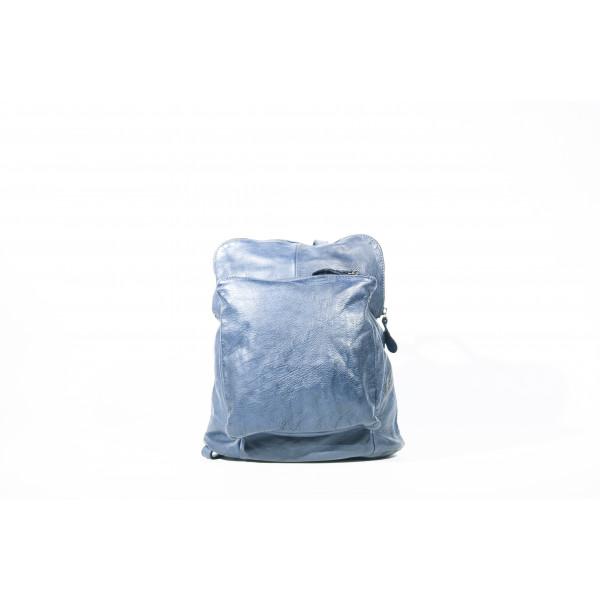 Рюкзак R0041.3 синий 28х31х12 (Натуральная кожа)