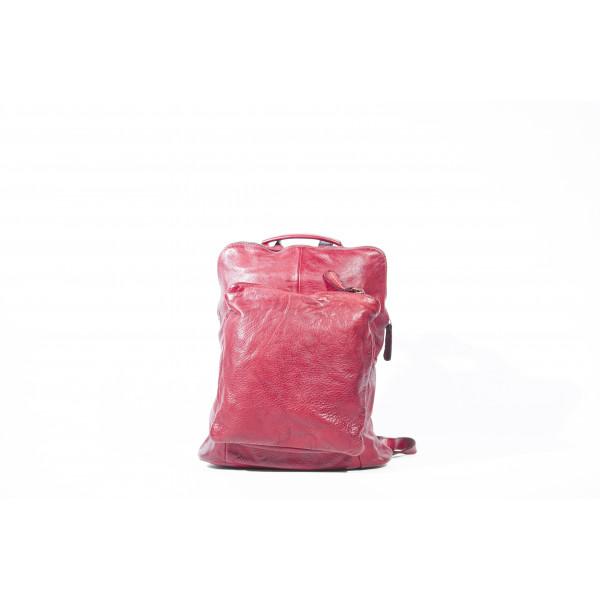 Рюкзак R0041.4 бордо 28х31х12 (Натуральная кожа)