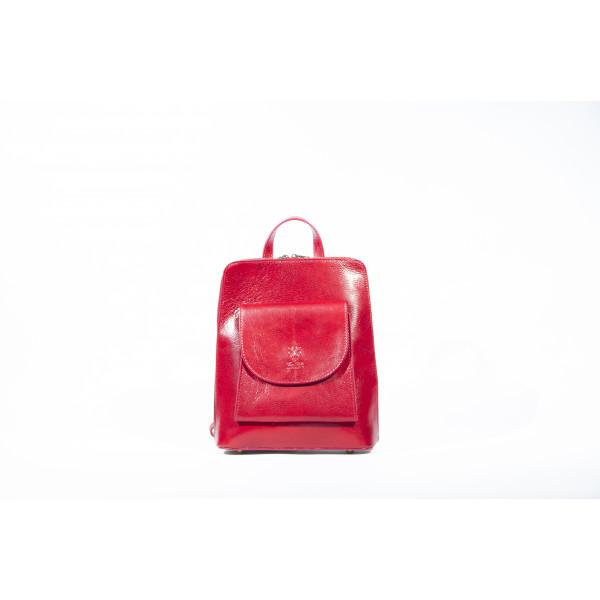 Рюкзак R0042.1 бордо 23х28х8 (Натуральная кожа)