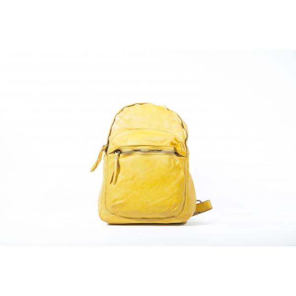 Рюкзак R0044.1 желтый 25х32х12 (Натуральная кожа)