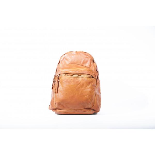 Рюкзак R0044.2 коричневый 25х32х12 (Натуральная кожа)