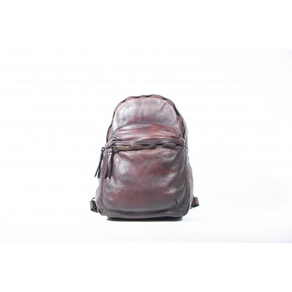 Рюкзак R0044.4 темно-коричневый 25х32х12 (Натуральная кожа)