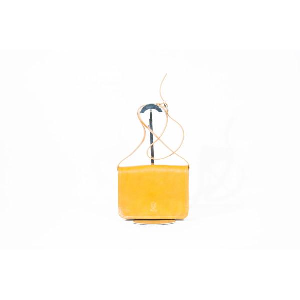Сумка B0013.5 желтый 18х7х24 (Натуральная кожа)