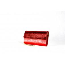 Клатч K0014.1 красный 25х15 (Натуральная кожа)