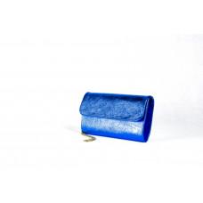 Клатч K0014.3 синий 25х15 (Натуральная кожа)