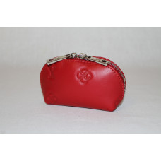 Ключница L0001.1 красный 13х7х5 (Натуральная кожа)