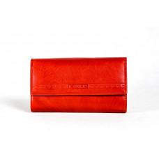 Кошелек A0011.3 красный 18,5х10х2 (Натуральная кожа)