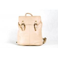 Рюкзак R0005.9 светло-бежевый 33х35х12 (Натуральная кожа)