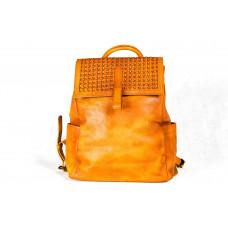 Рюкзак R0025.1 светло-коричневый 28x36x10 (Натуральная кожа)