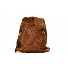 Рюкзак R0033.2 коричневый 25х28х11 (Натуральная кожа)