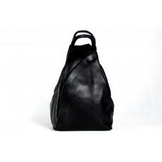 Рюкзак R0036.4 черный 23х33х13 (Натуральная кожа)