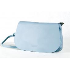 Сумка B0045.1 голубой 25х15 (Натуральная кожа)