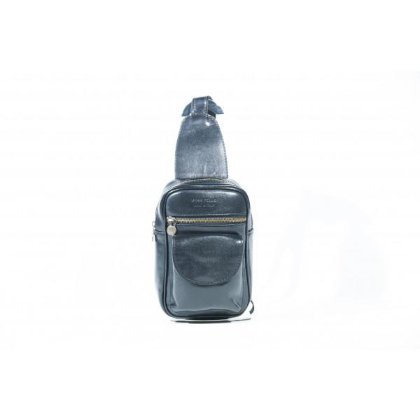 Сумка S0300.1 черный 14х22х6 (Натуральная кожа)