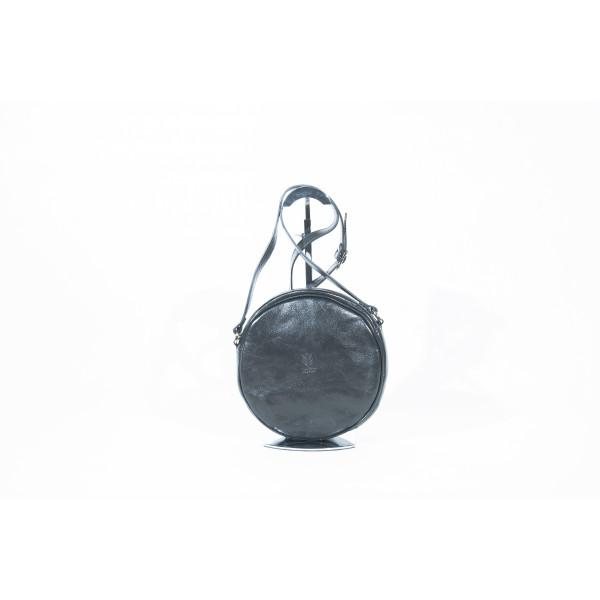 Сумка S0301.1 черный 23х23х7 (Натуральная кожа)