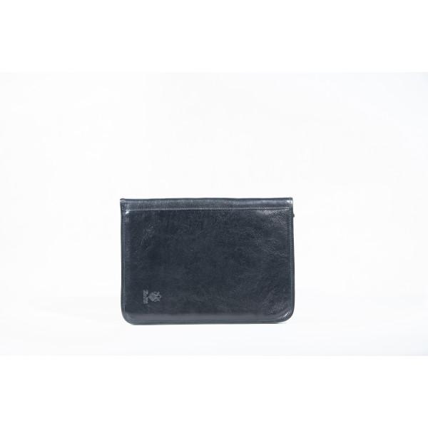 Сумка S0304.1 черный 33х25х1 (Натуральная кожа)